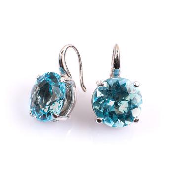 Gemstone & Diamond Earings
