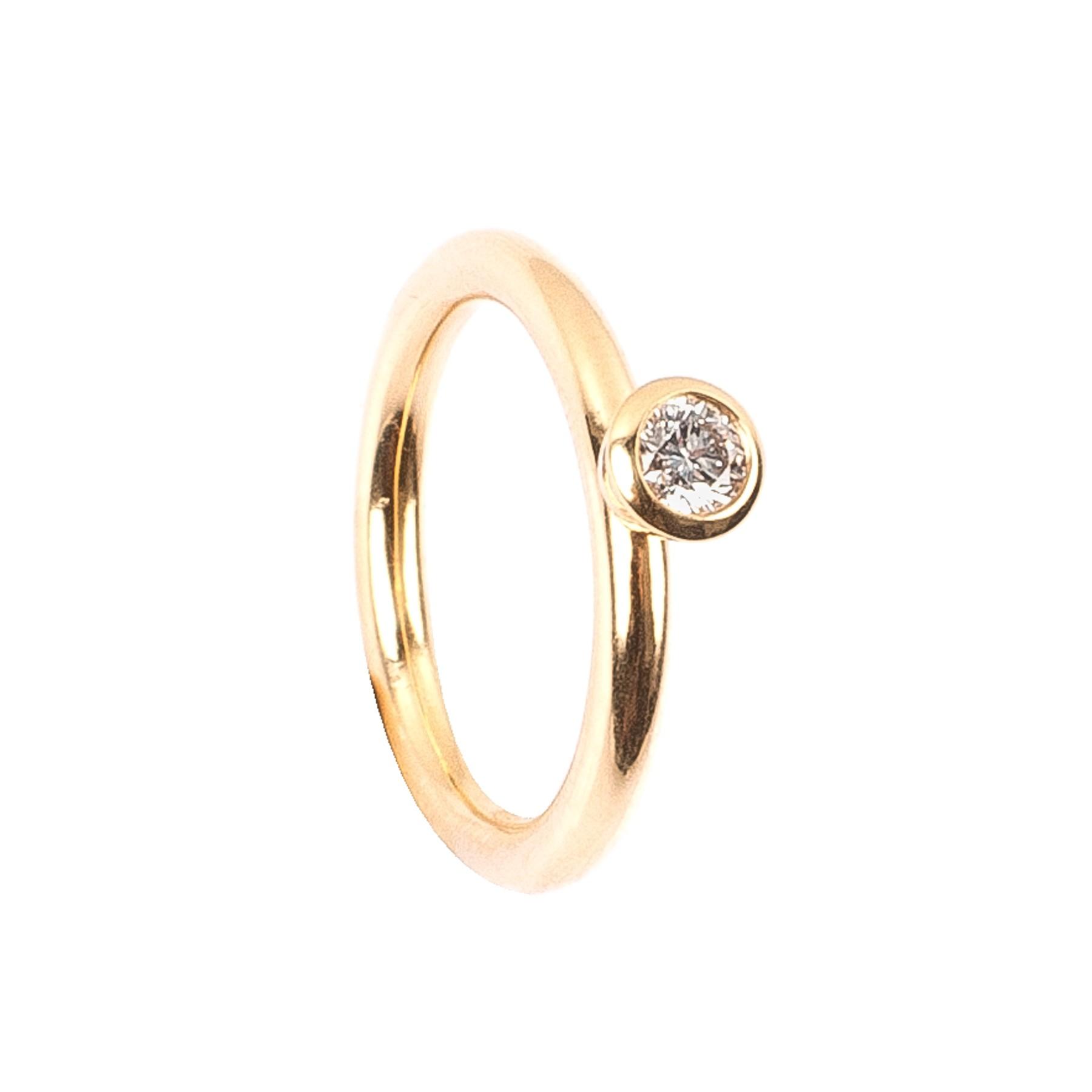 0,20CT Diamant Ring TW/VSI
