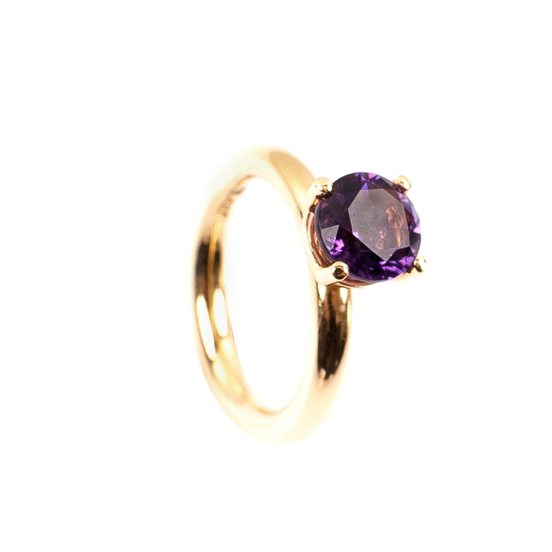 1,86CT Amethyst Ring