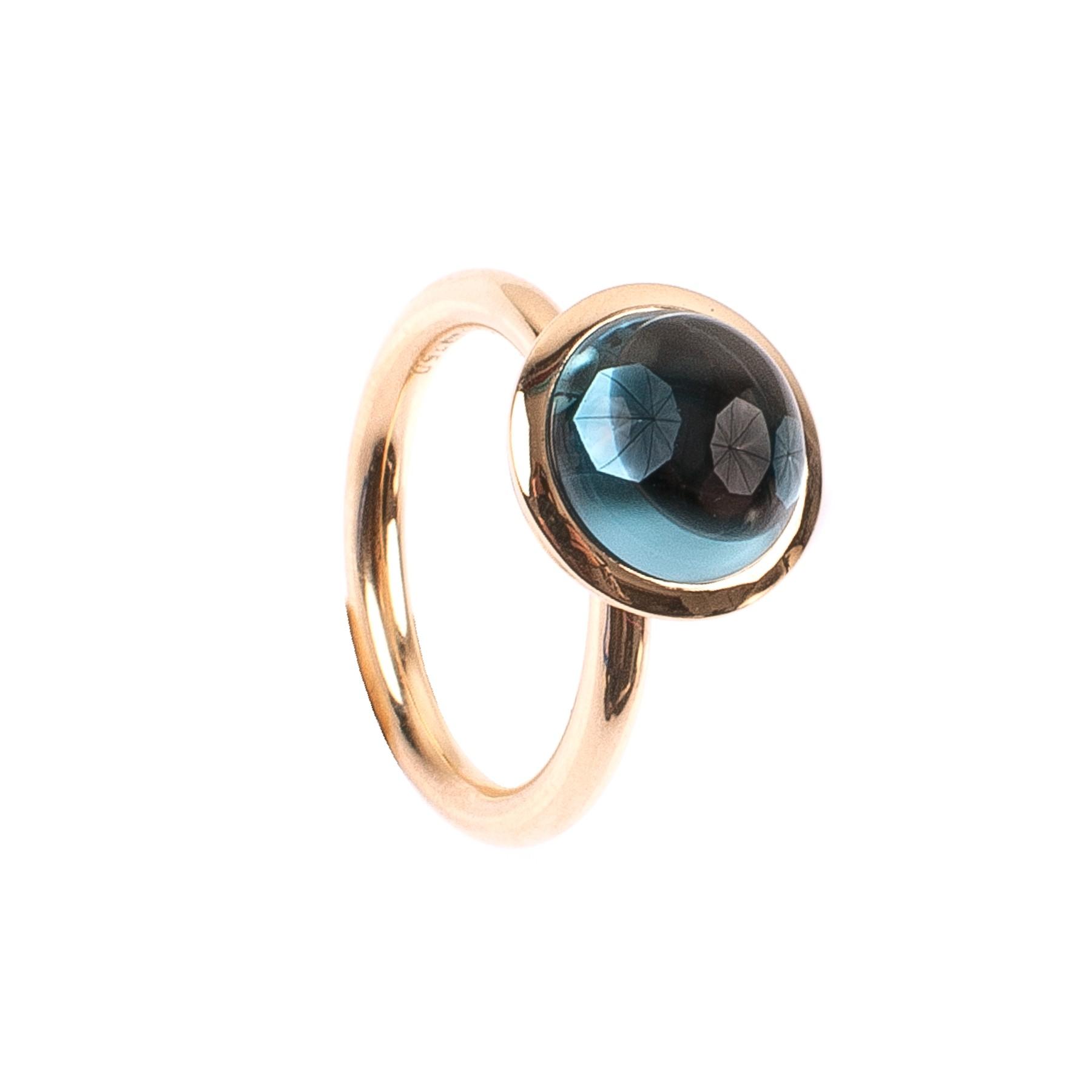 4,98CT Topas Kuppel Ring