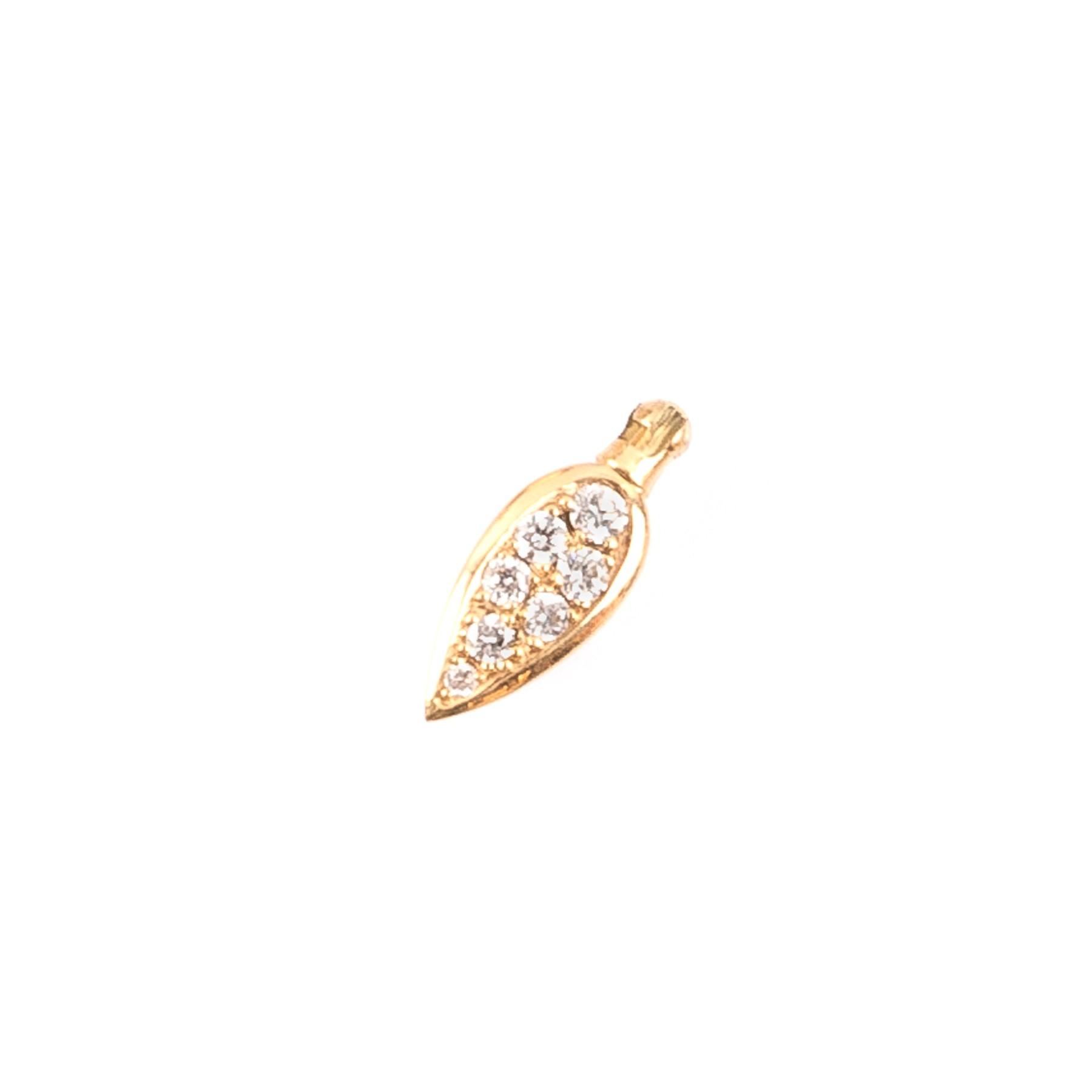 Anhänger Diamant Blatt 401/6