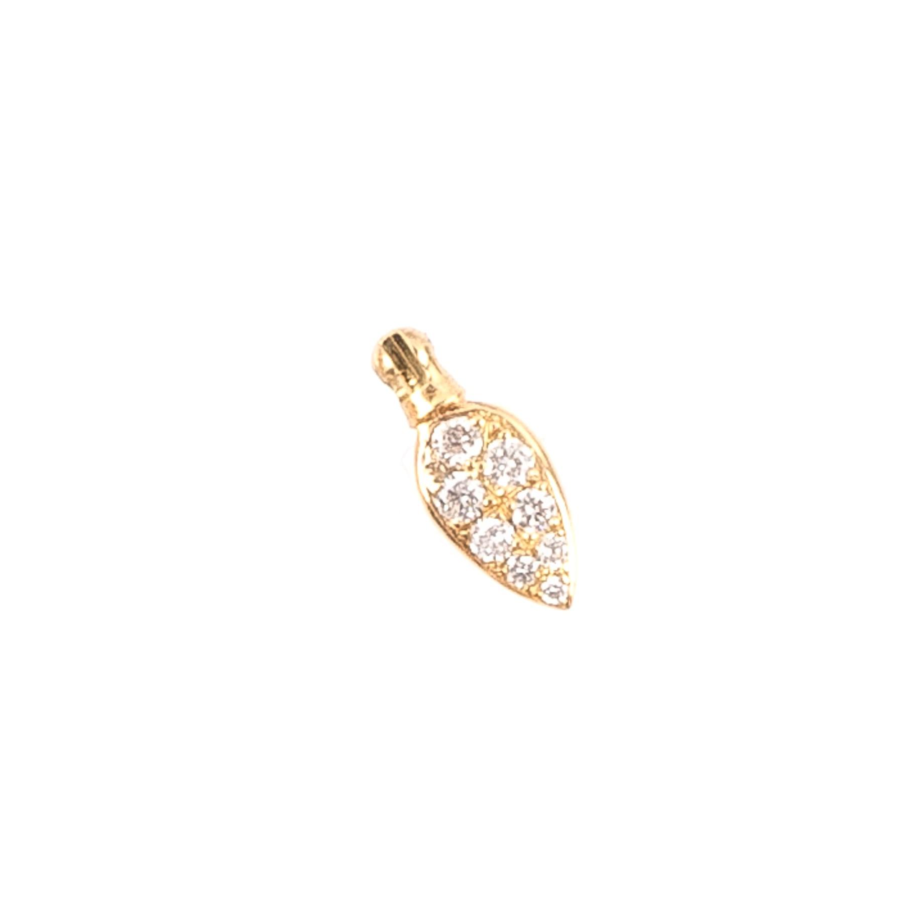 Anhänger Diamant Blatt 401/7