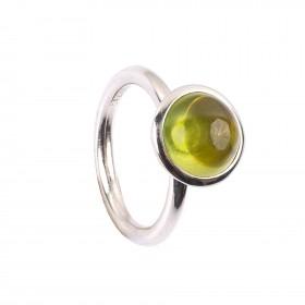 4,19CT Peridot Kuppel Ring