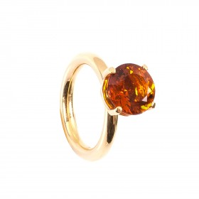 3,24CT Citrin Ring