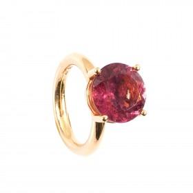 6,13CT Rubellit Turmalin  Ring