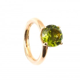 3,71CT Peridot Ring