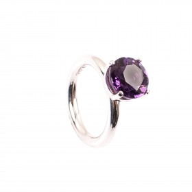 3,40CT Amethyst Ring