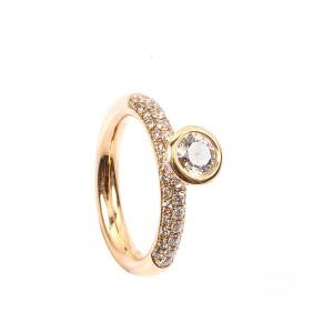 0,53CT Diamant Ring TW/VSI