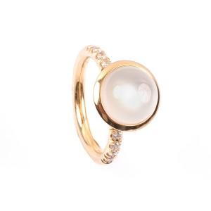 4,09CT Mondstein Ring