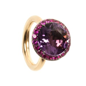 6,61CT Amethyst Ring