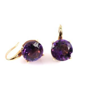11,16CT Amethyst Ohrringe