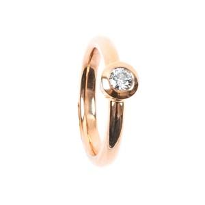 0,24CT Diamond RingTW/VSI