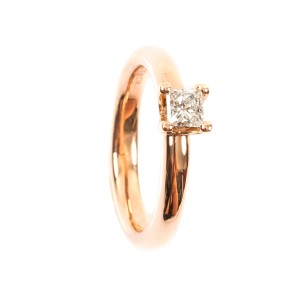 0,32CT Diamond Solitäre Ring TW/VVSI