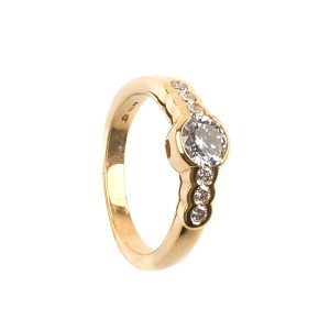 0,63CT Diamond Ring SI1