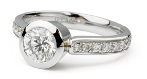 Buy diamond rings with certified diamonds online